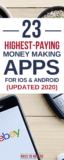 23 Best Money Making Apps for Android/iOS (2020)
