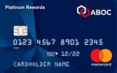 Carta di credito ABOC Platinum Rewards