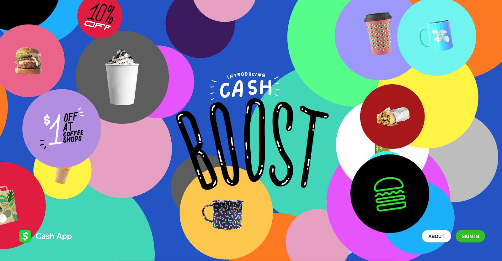 Cash App Boosts