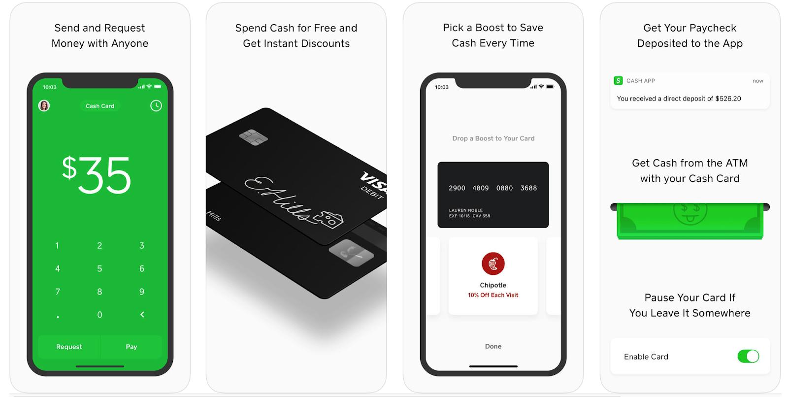 cash screenshots