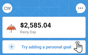 digit rainy day fund