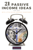 Pinterest: 21 Passive Income Ideas