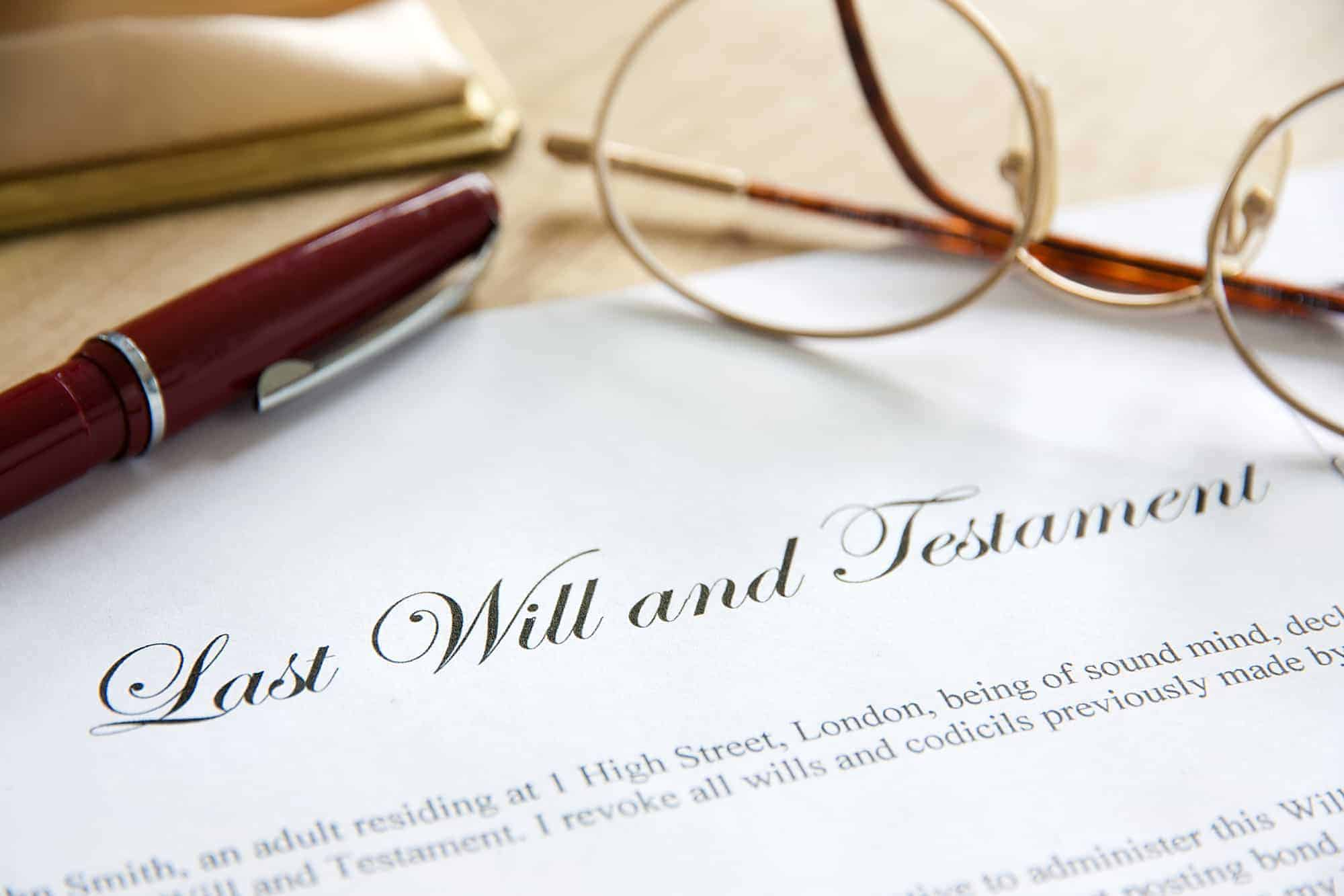 Last Will and Testement