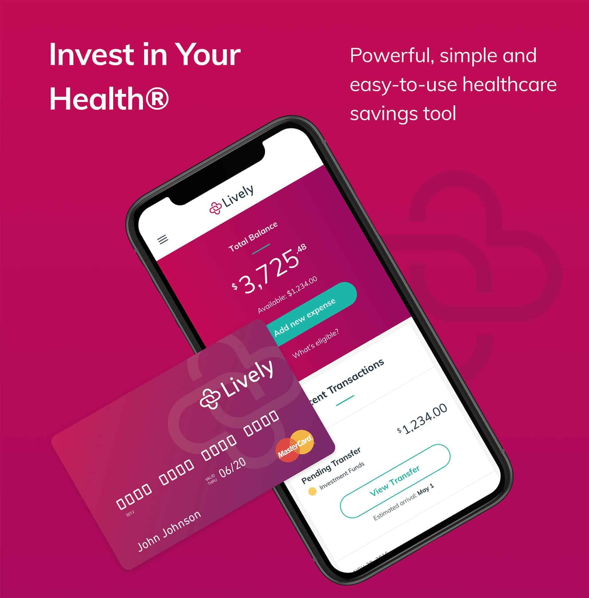 Invest in your health with Lively HSA