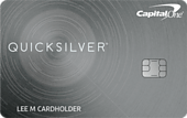Capital One Quicksilver Cash Rewards Card Art
