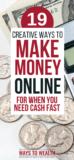 Pinterest: 19 Creative Ways to Make Money Quickly Online in 2019