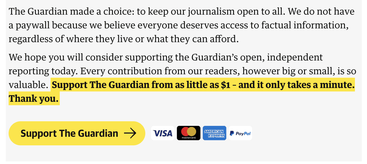 the guardian pitch