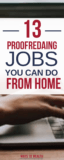PINTEREST_ 13 Online Proofreading Jobs You Can Do From Home