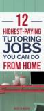 Pinterest: The Best Online Tutoring Jobs