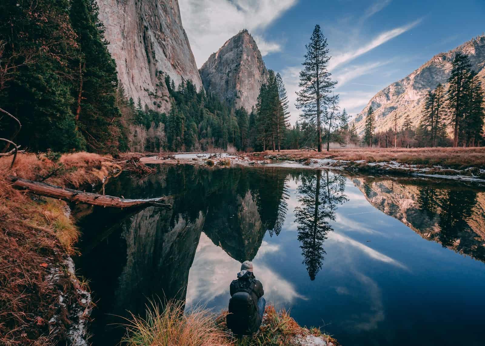 Yosemite nature scene