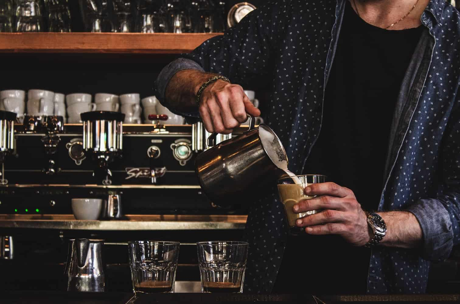 Barista jobs are one of many easy part time jobs