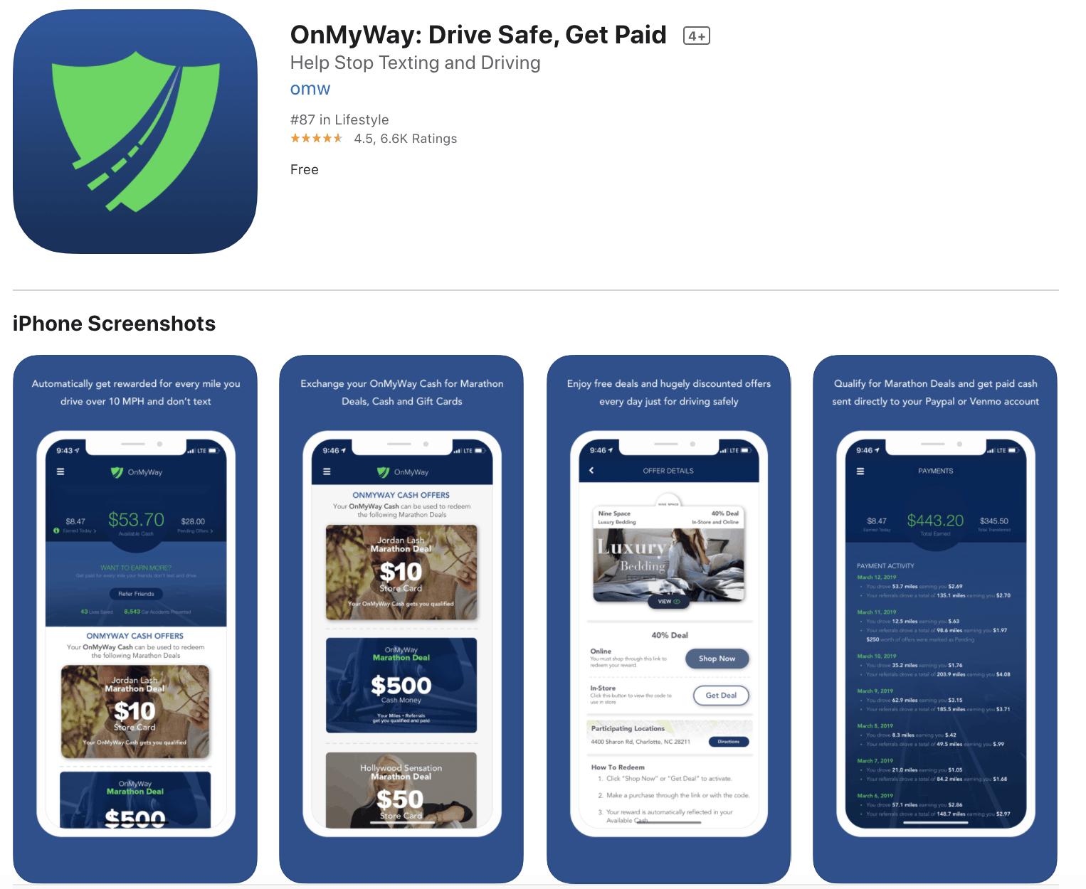 OnMyWay App Download