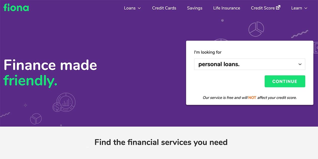 Fiona Home Page