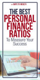 Pinterest: The Best Personal Finance Ratios