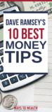 Pinterest: Dave Ramsey's 10 Money Tips