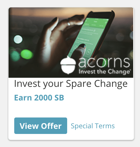 Acorns Swagbucks Offer