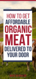 organic meat delivery