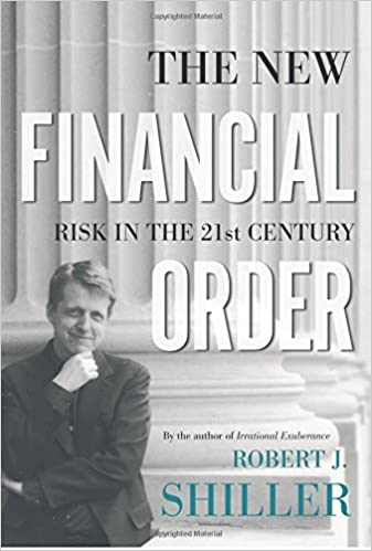 The New Financial Order - Risk in the 21st Century - Book Cover - by Robert J Shiller