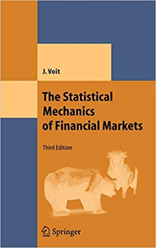 The Statistical Mechanics of Financial Markets, Third Edition Book Cover