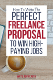 Pinterest: How to Write Great Freelance Proposals to Win More Jobs