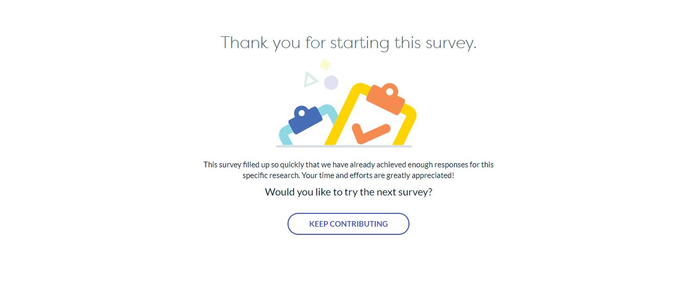 LifePoints full survey