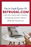 Befrugal.com review