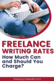Pintereest Freelance Writing Rates