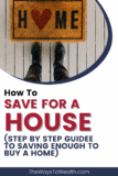 Pinterest How To Save for A Home