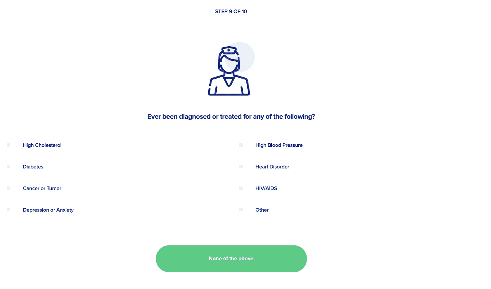 Sproutt screening questions.